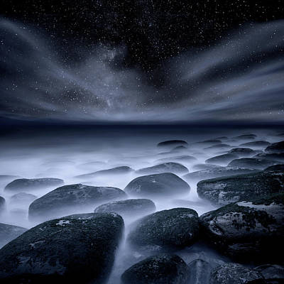 Poster featuring the photograph Sky Spirits by Jorge Maia