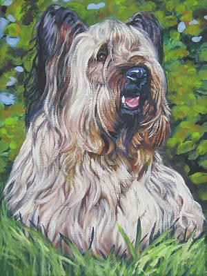 Skye Terrier Poster by Lee Ann Shepard