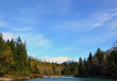 Skykomish River And Persis Poster