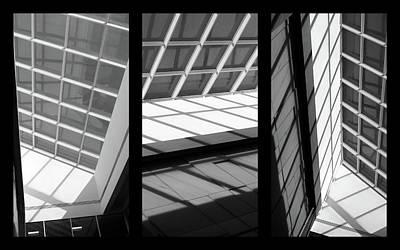 Skylight Triptych  Poster by Jessica Jenney