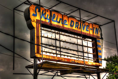 Skyline Drive-in Poster by Robert Storost