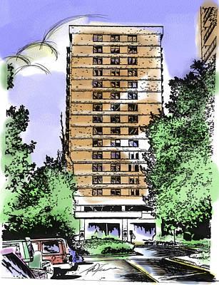 Skyline House Condo Poster