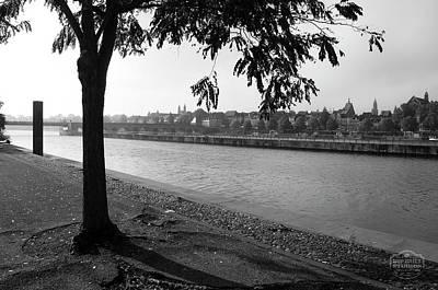 Skyline Maastricht Poster by Nop Briex