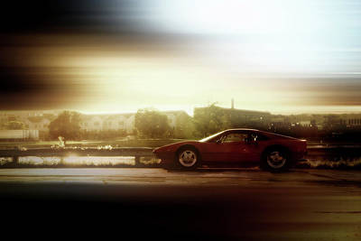 Skyline Speed Poster