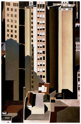 Skyscraper Poster by Charles Sheeler
