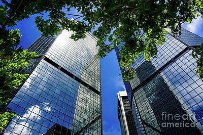 Skyscraper Spring Poster