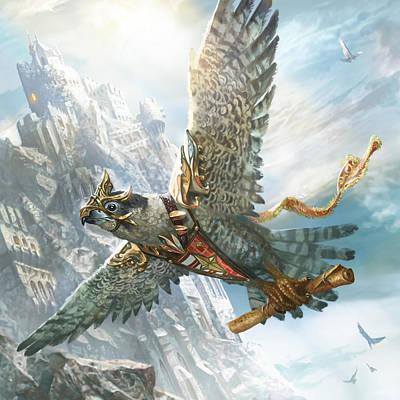 Skyswift Herald Poster