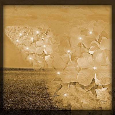 Skyward Blossom Poster by Majula Warmoth