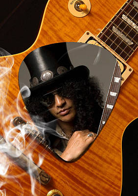 Slash Art Poster