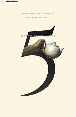 Slaughterhouse Five, Kurt Vonnegut, Minimalistic Poster