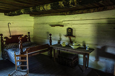 Poster featuring the photograph Slave Quarters - The Hermitage by James L Bartlett