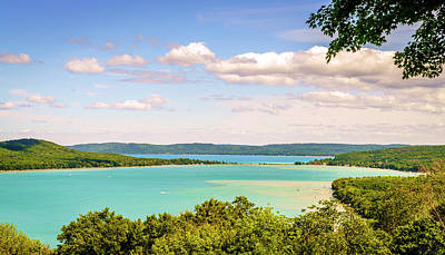 Poster featuring the photograph Sleeping Bear Dunes National Lakeshore by Alexey Stiop