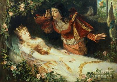 Sleeping Beauty Poster by Richard Eisermann