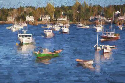 Sleeping Boats IIi Poster by Jon Glaser