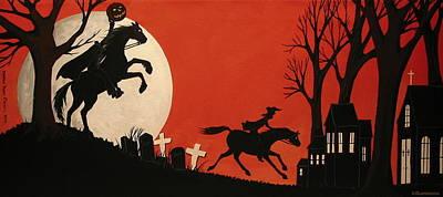 Sleepy Hollow - Artist Folkartmama Poster