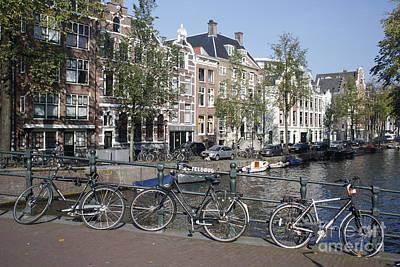 Poster featuring the photograph Sleutelbrug Amsterdam by Wilko Van de Kamp