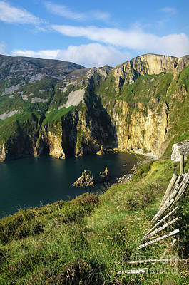 Poster featuring the photograph Slieve League Cliffs Eastern End by RicardMN Photography