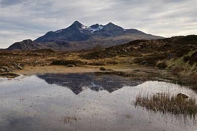 Sligachan Reflections Isle Of Skye Poster by Stephen Taylor