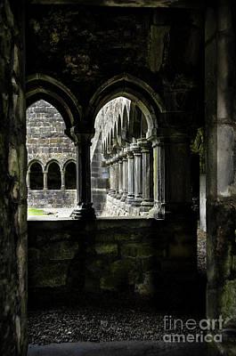 Poster featuring the photograph Sligo Abbey Interior by RicardMN Photography