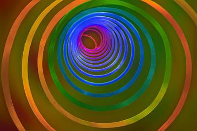 Slinkyoscopy Poster by Paul Wear
