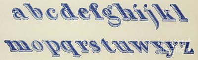 Small Italian Font Poster