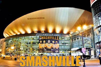 Smashville Poster by Lisa Wooten