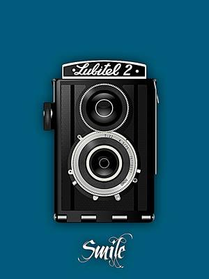 Smile For The Camera Poster by Marvin Blaine