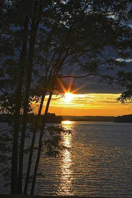 Smith Mountain Lake Summer Sunet Poster