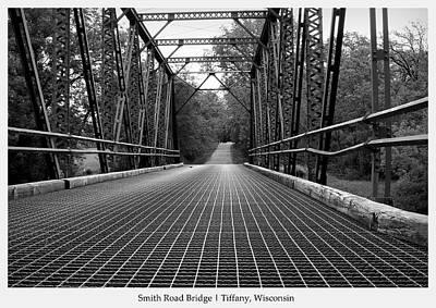 Poster featuring the photograph Smith Road Bridge  by Viviana  Nadowski