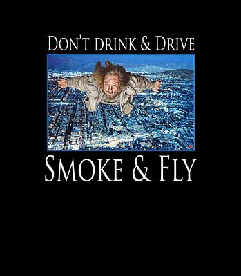 Smoke And Fly Poster by Tom Roderick