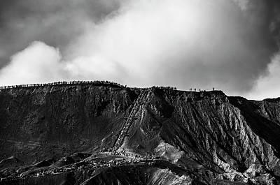 Smoking Volcano Poster