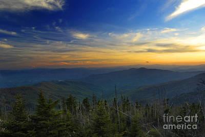 Smoky Mountain Sunset Poster