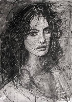 Smoky Noir... Ode To Paolo Roversi And Natalia Vodianova  Poster