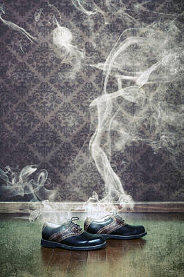 Smoky Shoes Poster by Joana Kruse