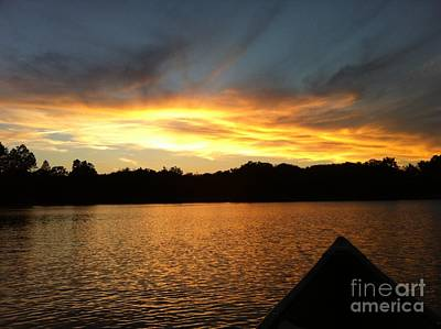 Smoldery Sunset Poster by Jason Nicholas