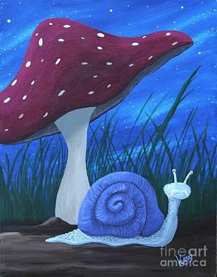 Snail Elliot Poster