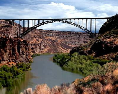 Snake River Canyon Poster by Ron Chambers