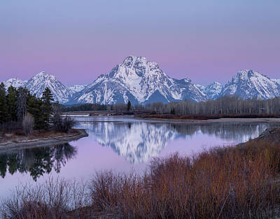 Poster featuring the photograph Snake River // Grand Teton National Park  by Nicholas Parker