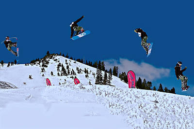 Snow Boarder Poster