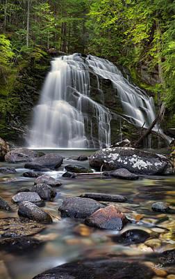Snow Creek Falls Poster