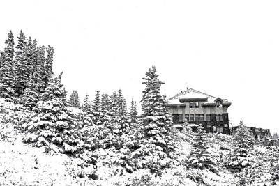 Snow In July 2 Poster by Teresa Zieba