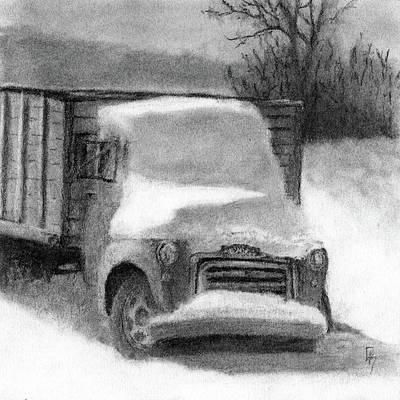 Snowbound Gmc Poster by David King