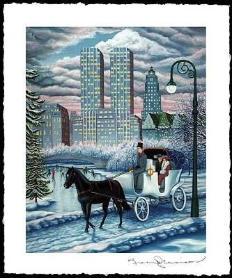 Snowbound Poster by Tracy Dennison