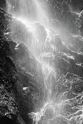 Snowcreek Falls Poster by Raymond Salani III