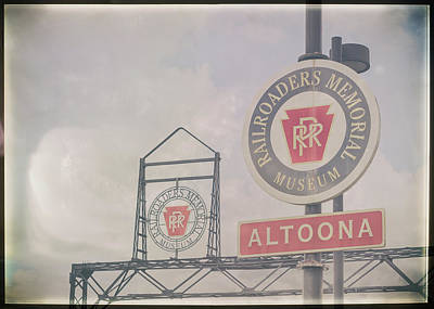 Foggy Day In Altoona Poster by Eclectic Art Photos