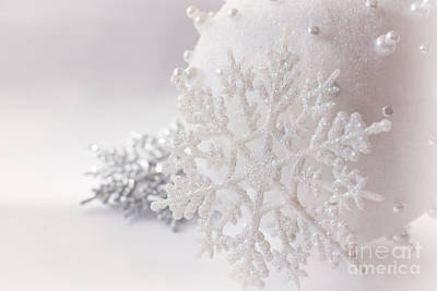 Snowflake Poster by Cindy Garber Iverson