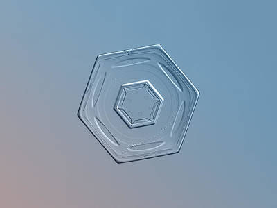 Snowflake Photo - Cloud Wheel Poster