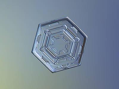 Snowflake Photo - Machinery Of Winter II Poster by Alexey Kljatov