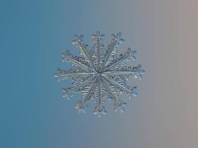Snowflake Photo - Wheel Of Time Poster