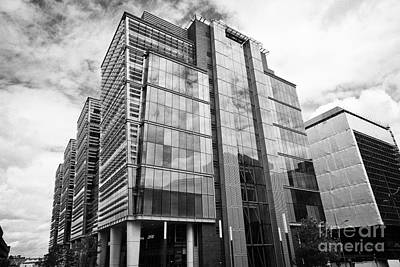 snowhill office development in new financial area of Birmingham UK Poster